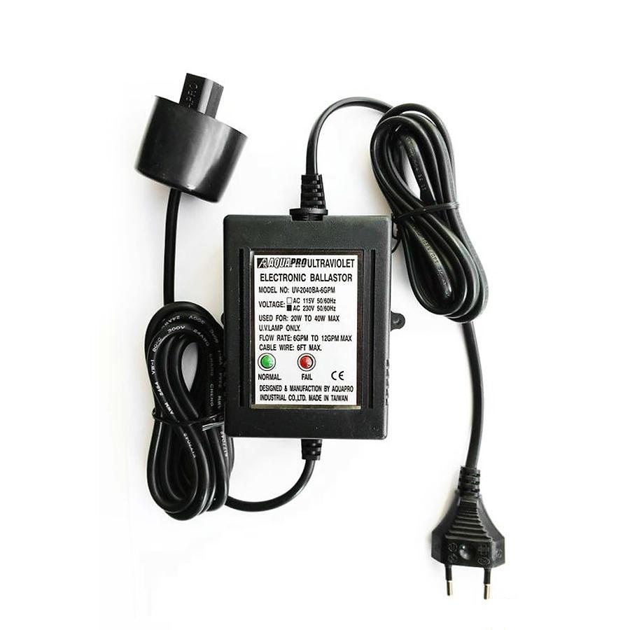 Aquapro UV-2040 BA для UV6 GPM, (UV12GPM)