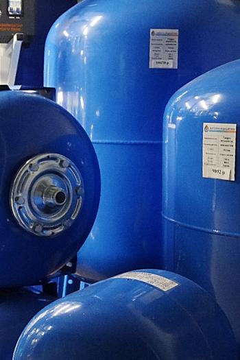 Объем гидроаккумулятора Aquasystem – расчет