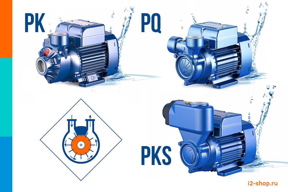Вихревые Pedrollo PK, PQ, PKS