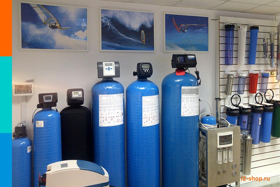 Колонны умягчения и обезжелезивания воды